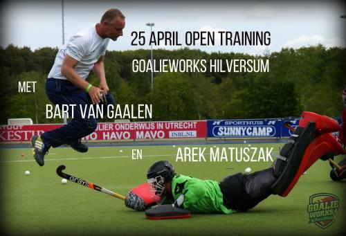25 april open training Hilversum