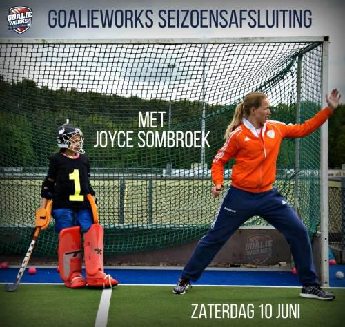 Joyce Sombroek sluit het seizoen af